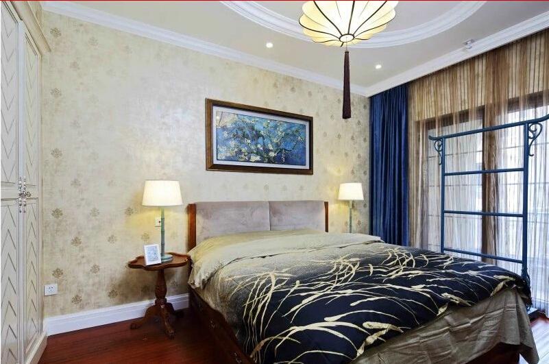 卧室图片来自tjsczs88在首创装饰-中信公园城法式风情的分享