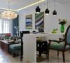 合宜的区域配置,以居住者的生活为蓝图,着重空间的原始特性,精准纳入现代都市的设计意图,考虑到屋主为单人使用,划分空间为三室两厅,并将客厅、吧台连接,使空间更为大气。
