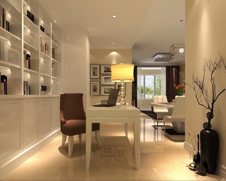 简约 书房图片来自高度国际宋书培在恒大御景湾两居室装饰效果图的分享