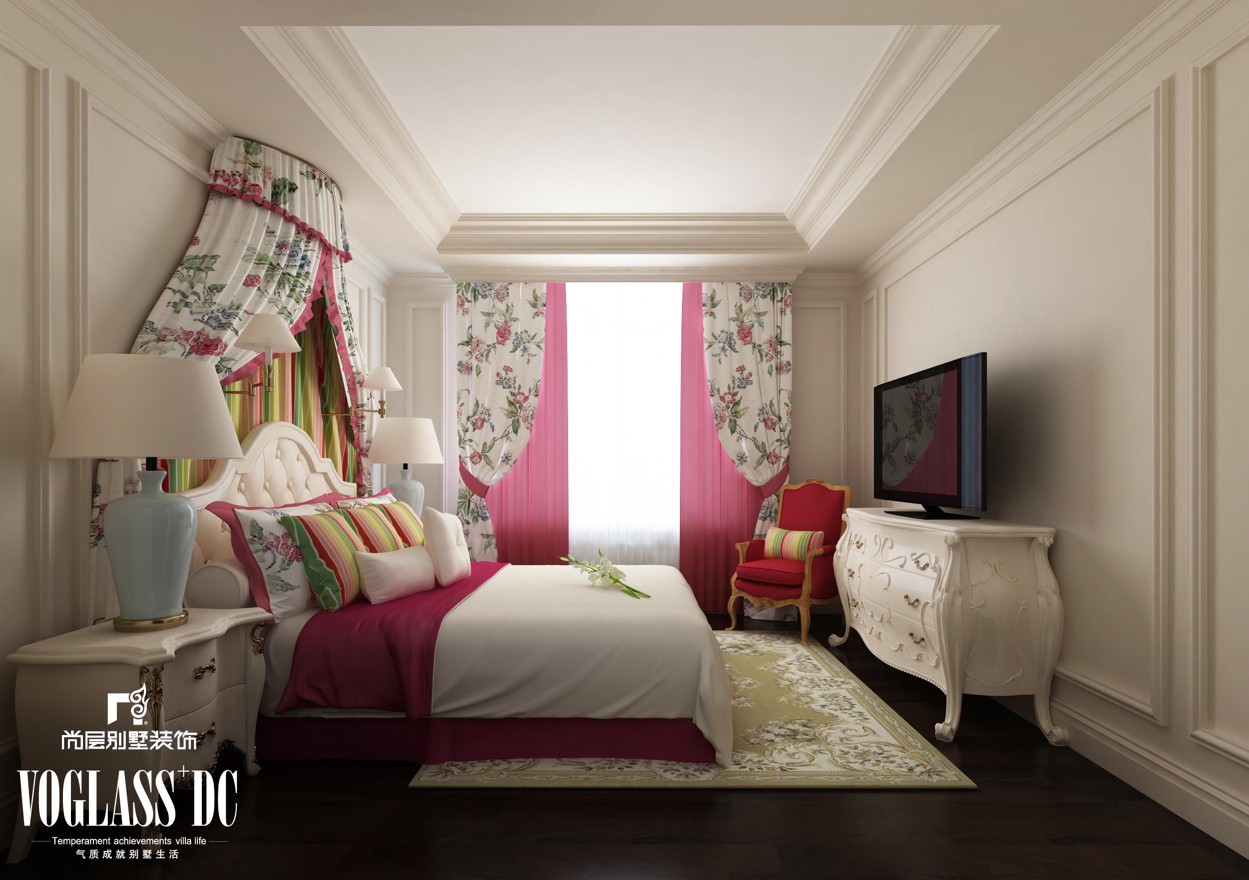 别墅 二居 三居 卧室图片来自天津尚层装修韩政在博轩园的分享