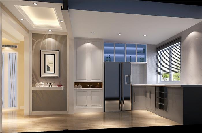 现代 厨房图片来自高度国际宋书培在富力惠兰美居 100平米装饰效果图的分享