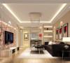 壹简洁 时尚的家居为主路线,满足了业主需求