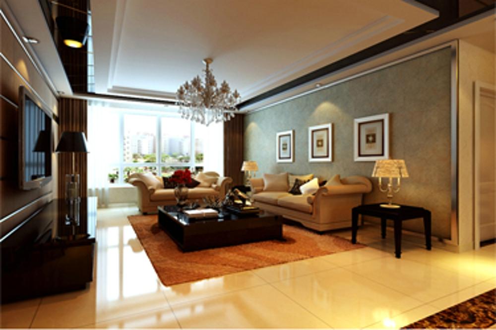 三居 欧式 客厅图片来自石家庄业之峰装饰虎子在祥云国际149平米现代简约风格的分享