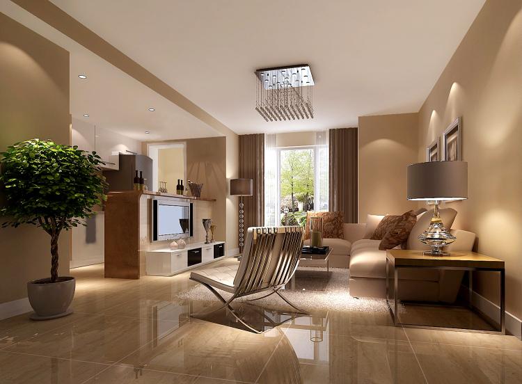 简约 客厅图片来自高度国际宋书培在恒大御景湾两居室装饰效果图的分享