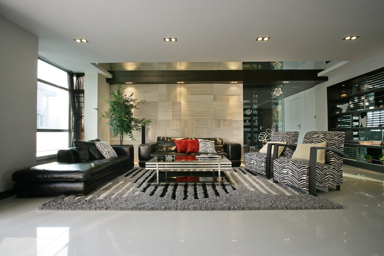 简约 现代 今朝装饰 三居 客厅图片来自今朝装饰小郭在空间的典雅和自由并存的分享