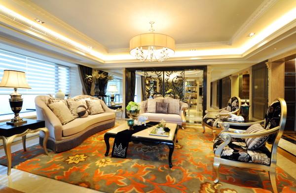 【成都实创装饰】独栋别墅—欧式风格  精装样板房装修参考