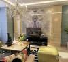 本案是金融街和平中心B地块高层标准层H户型2室2厅1卫1厨114㎡的案例,设计的风格是简约风格。