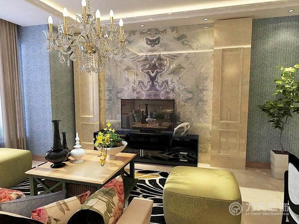 简约 二居 收纳 白领 80后 小资 客厅图片来自阳光力天装饰在金融街和平中心-114㎡-简约的分享