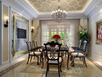 泰中花园249欧式新古典风格