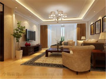 惠新苑 118平新中式风格