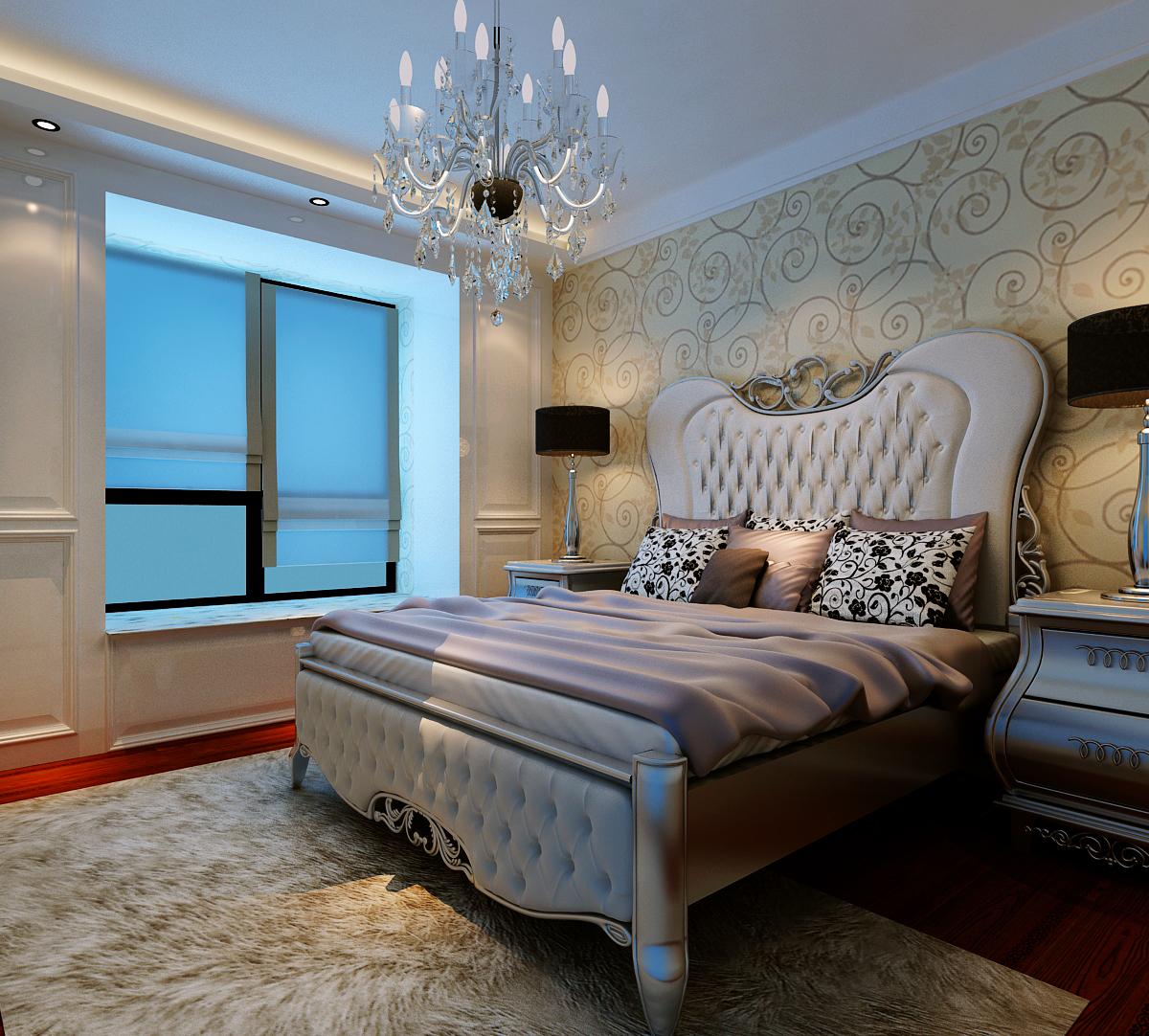 美式 三居 白领 收纳 旧房改造 卧室图片来自富有世纪装饰河南公司在美式风格的分享
