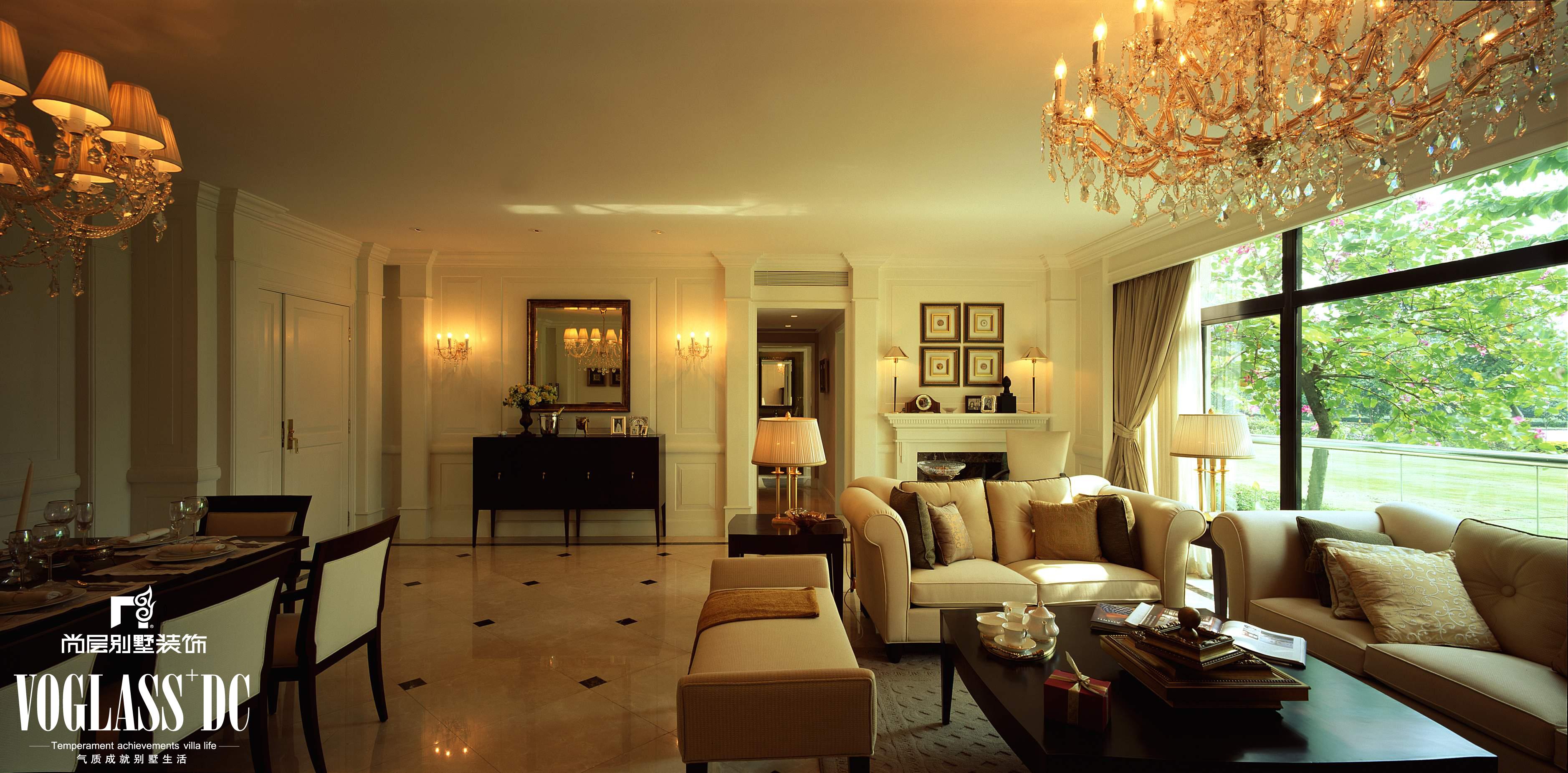 二居 三居 别墅 白领 80后 旧房改造 客厅图片来自天津尚层装修韩政在美式风格的分享