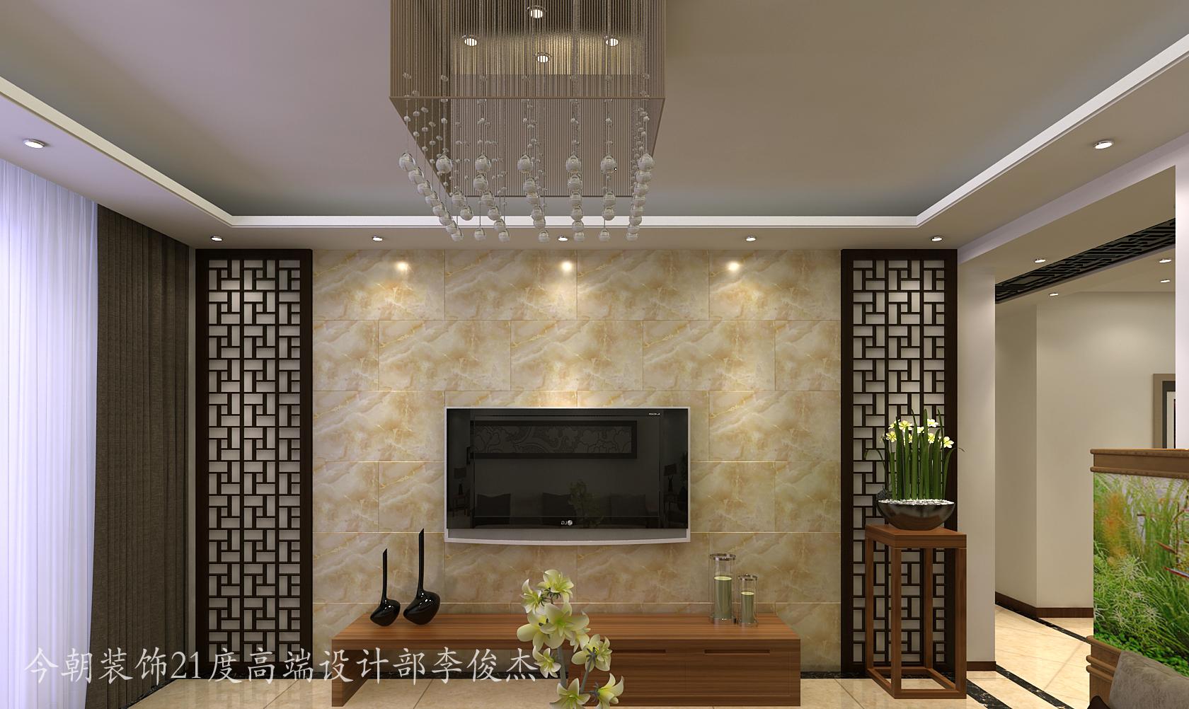 天津 今朝 装饰 设计 新中式 三居室 静海 静屿海 客厅图片来自今朝小涵_在静屿海引领新中式的分享