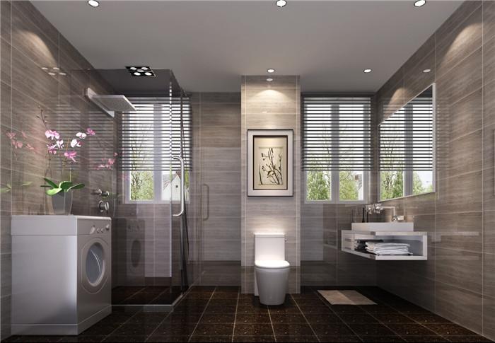 现代 卫生间图片来自高度国际宋书培在富力惠兰美居 100平米装饰效果图的分享