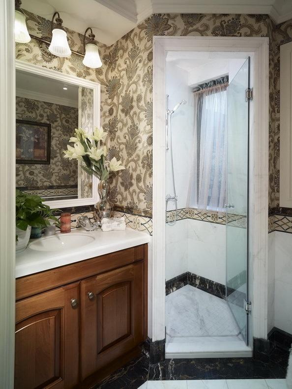 欧式 卫生间图片来自今朝装饰老房装修通王在小户型也能打造欧式的美~的分享