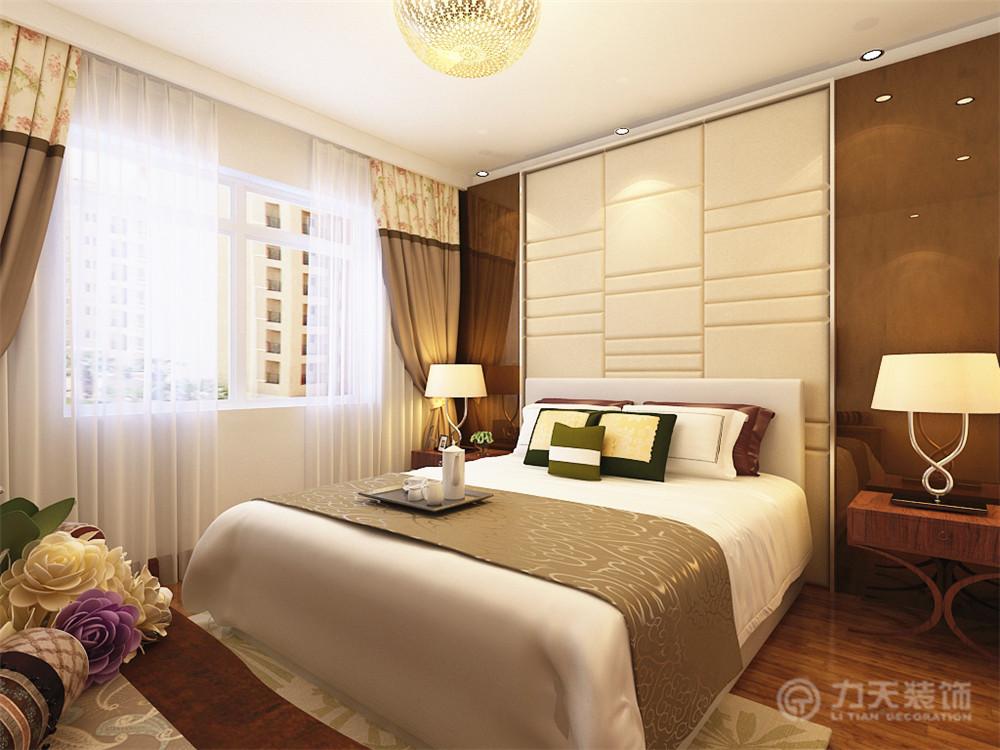 卧室图片来自阳光放扉er在弘泽鉴筑-70.00㎡-美式风格的分享