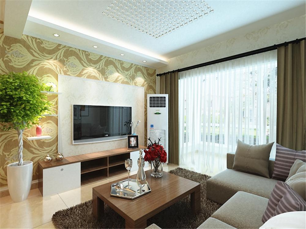 客厅图片来自阳光放扉er在珑著-93㎡-现代简约风格的分享