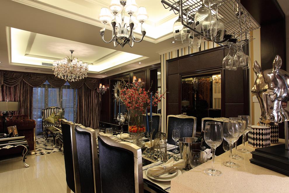 三居 古典 家庭装修 阿拉奇设计 餐厅图片来自阿拉奇设计在新古典家庭装修的分享