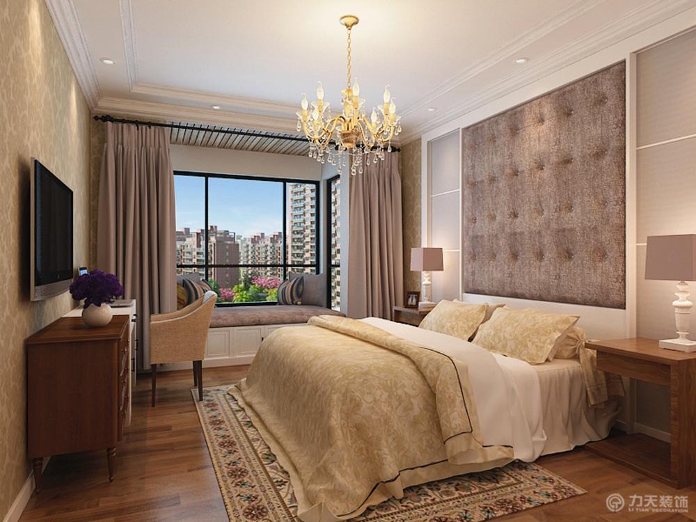 卧室图片来自阳光放扉er在境界梅江-160㎡-简欧风格的分享