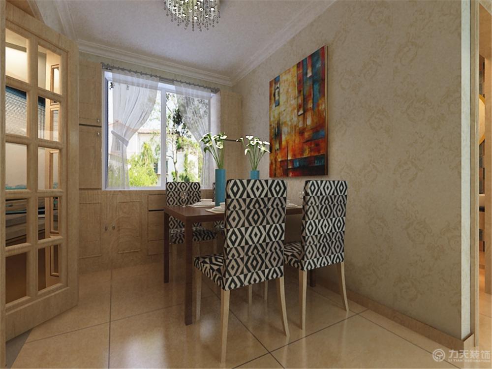 餐厅图片来自阳光放扉er在珑著-93㎡-现代简约风格的分享