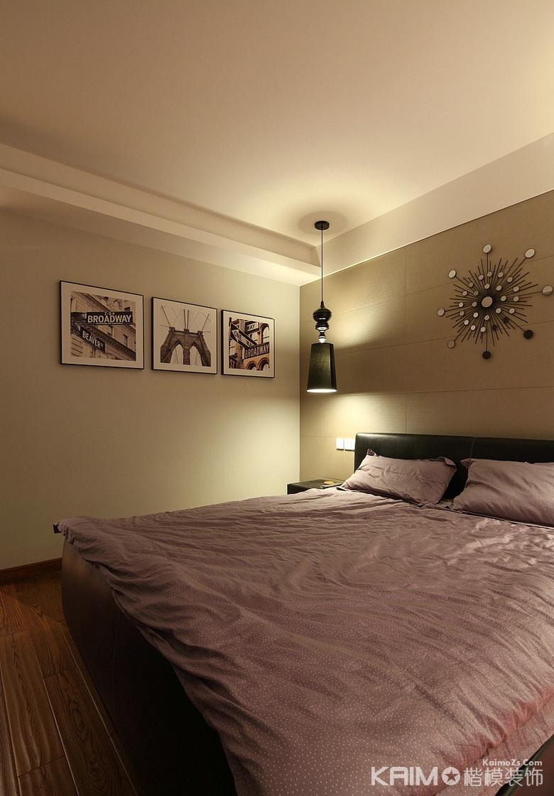 现代 简约 三室二厅 豪华 不奢华 卧室图片来自1043284585x在龙湖三千里的分享