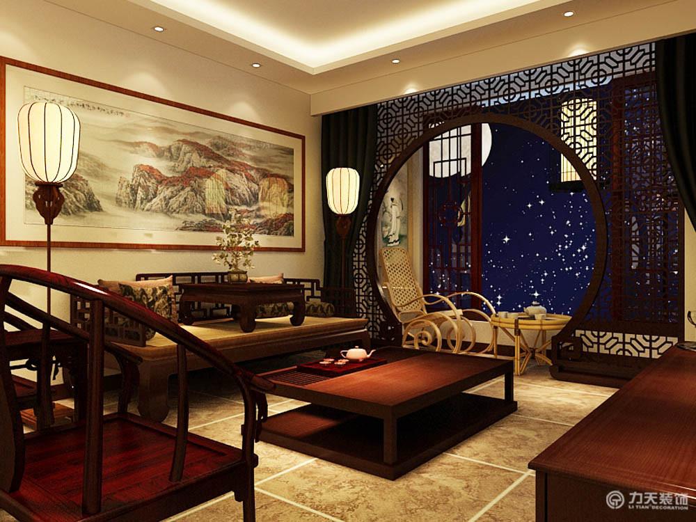 客厅图片来自阳光力天装饰梦想家更爱家在万科金域国际 A户型  88㎡的分享