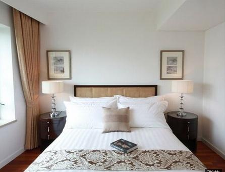 简约 三居 卧室图片来自众意装饰在保利时代案例的分享