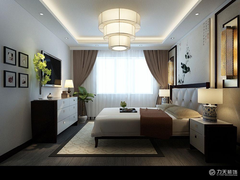 卧室图片来自阳光力天装饰梦想家更爱家在万科金域国际 A户型  88㎡的分享