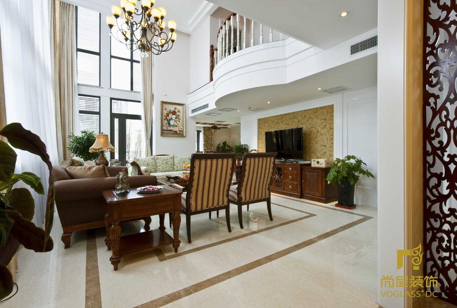 欧式 别墅 简约 客厅图片来自博览天下在湾流汇-396平米简欧风格的分享