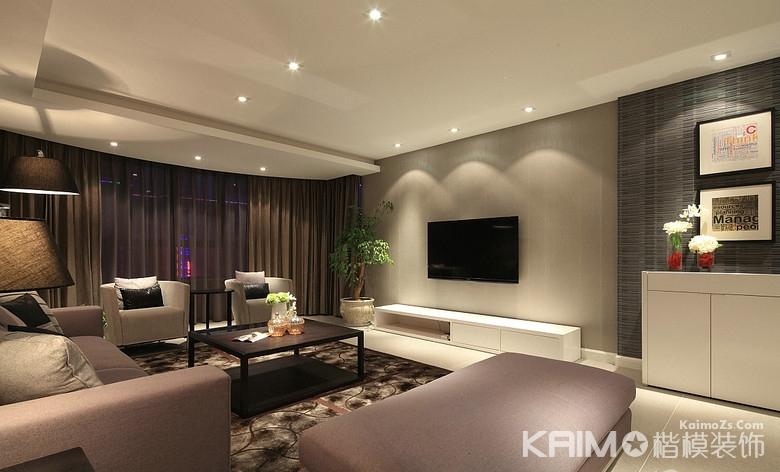 现代 简约 三室二厅 豪华 不奢华 客厅图片来自1043284585x在龙湖三千里的分享