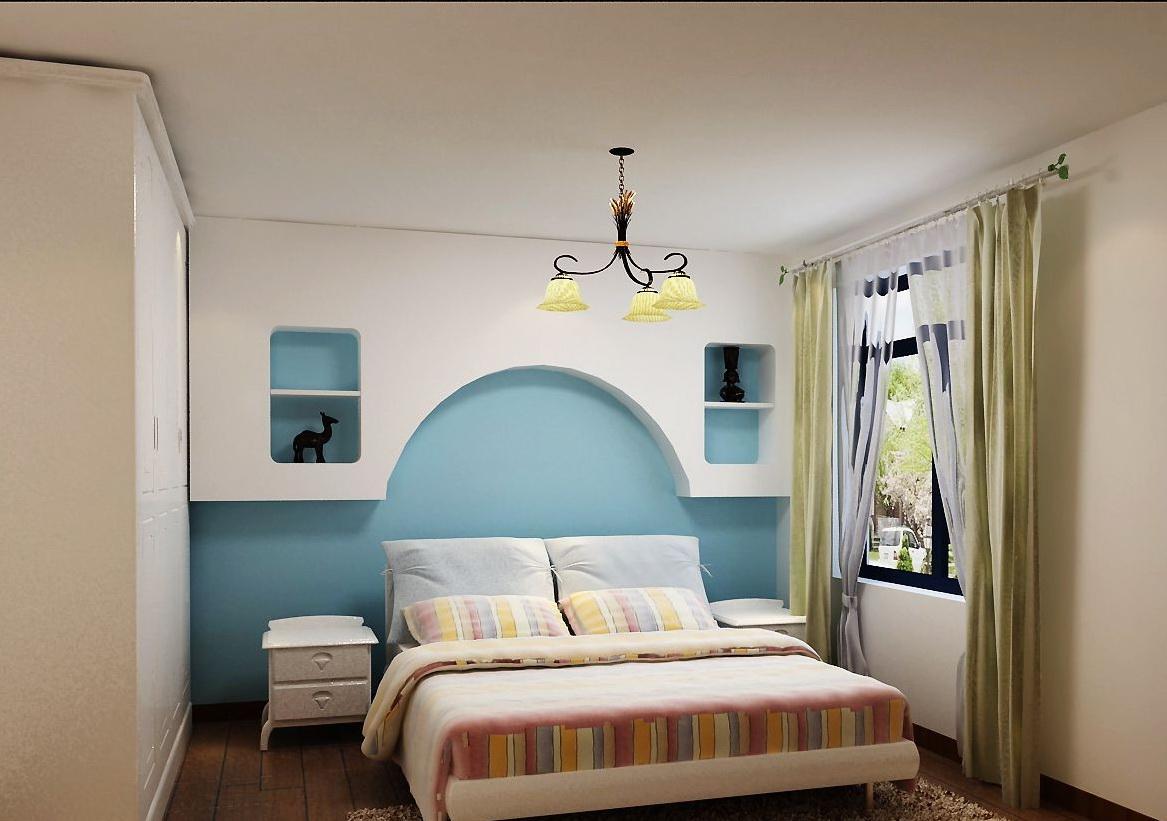 地中海 三居 收纳 小资 卧室图片来自刘建勋在地中海风格装饰雅居的分享
