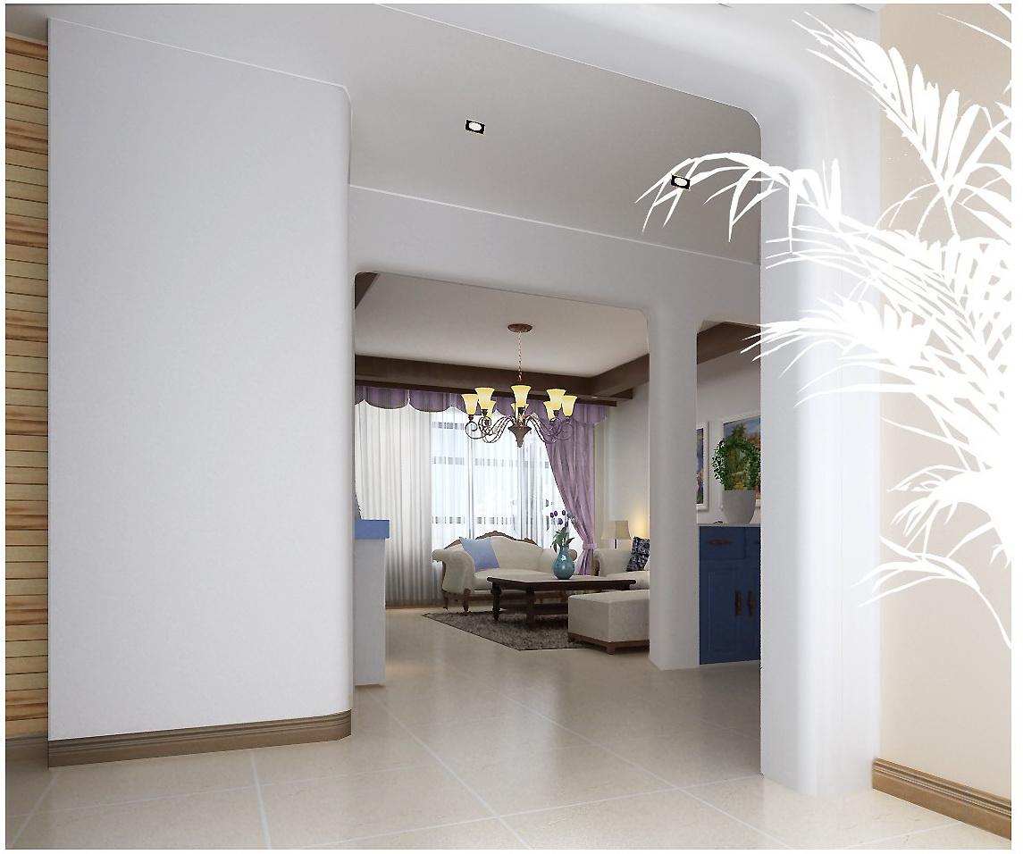 地中海 三居 收纳 小资 客厅图片来自刘建勋在地中海风格装饰雅居的分享