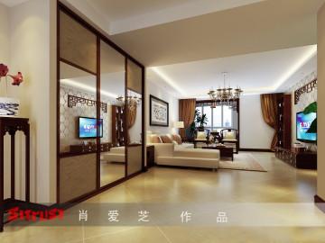 大宁山庄150平米三居室