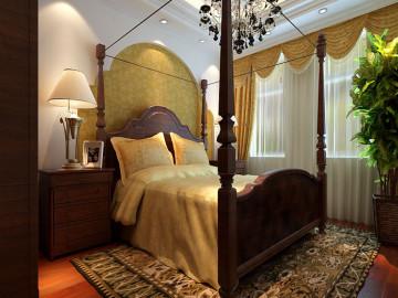 金泽大厦170平米美式乡村装修