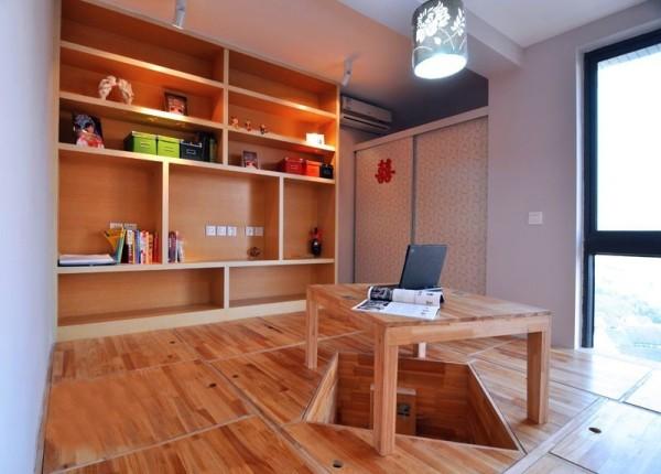 书房、卧室两用型