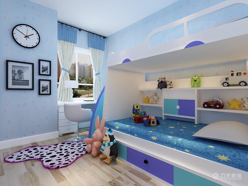 儿童房图片来自阳光力天装饰梦想家更爱家在滨海欣嘉园  浪漫 83㎡的分享