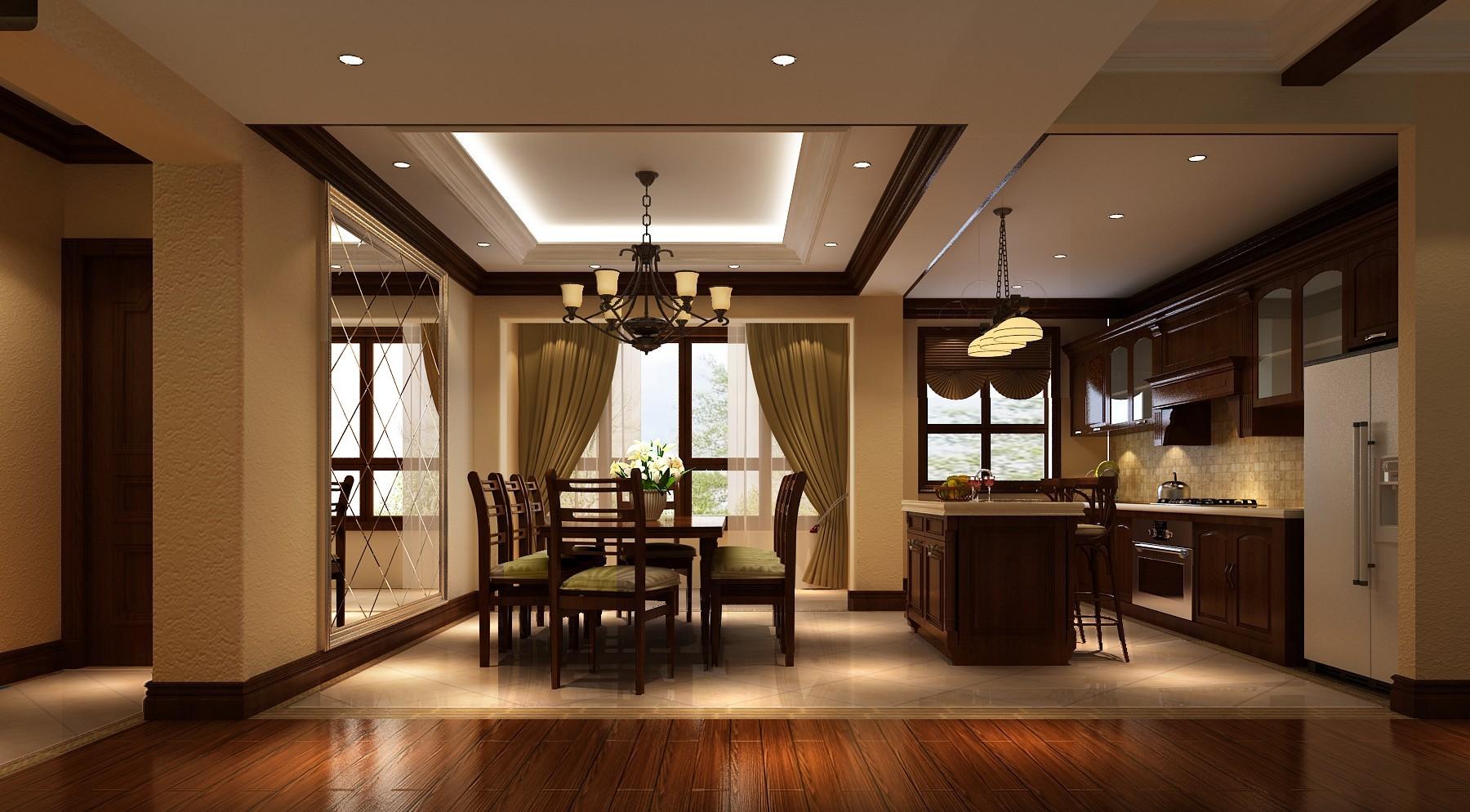 托斯卡纳 二居 平层 80后 小资 餐厅图片来自黑白昼夜循环丶在领袖慧谷150平托斯卡纳风格案例的分享