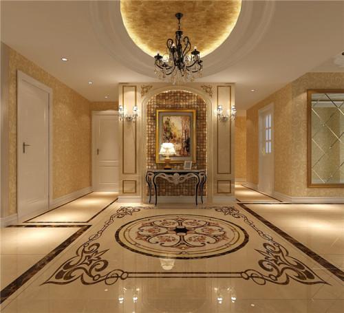 """简欧风格继承了传统欧式风格的装饰特点,吸取了其风格的""""形神""""特征,在设计上追求空间变化的连续性和形体变化的层次感,室内多采用带有图案的壁纸、地毯、窗帘、床罩、帐幔及古典装 。"""
