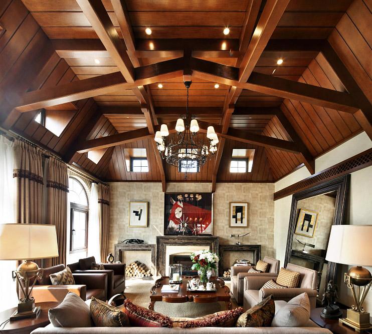 三居 田园 别墅 80后 小资 白领 客厅图片来自苹果装饰公司在三层独栋别墅田园风格装修实例图的分享