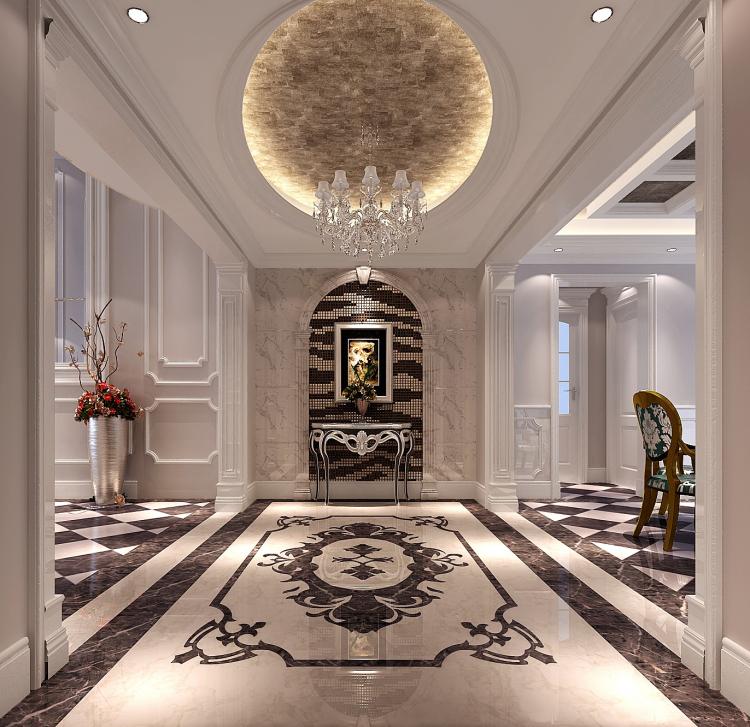 法式风格 旭辉御府 装饰装修 高度 高雅 客厅 玄关图片来自高度国际装饰王伟在旭辉御府法式风格的分享