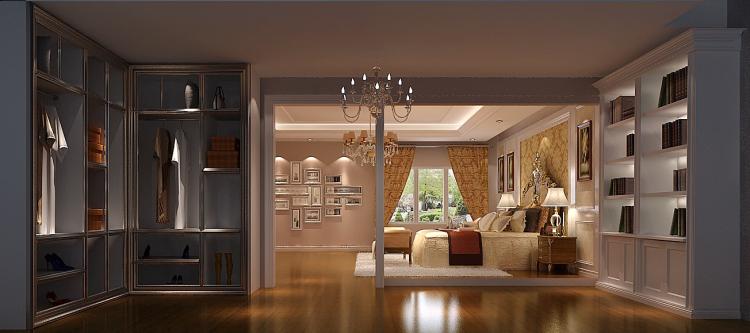 卧室图片来自高度国际装饰王伟在华侨城 欧式风格鉴赏的分享