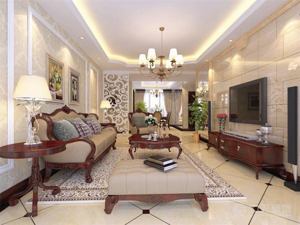 本方案本案设计的风格是以古典欧式风格为主