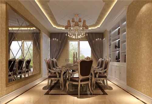 餐厅图片来自高度国际装饰王伟在华侨城 欧式风格鉴赏的分享