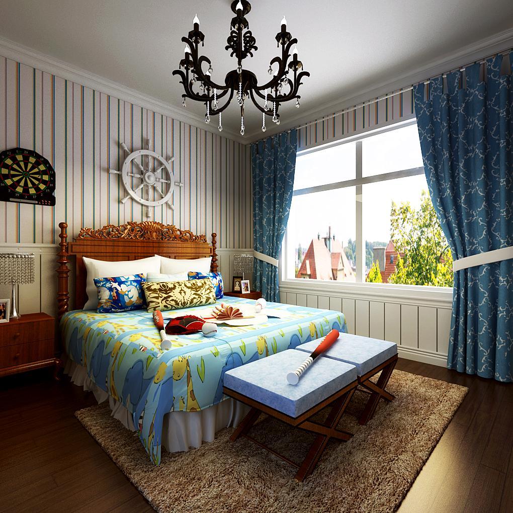 别墅装修 卧室图片来自天津别墅装修在首创福特纳湾1的分享