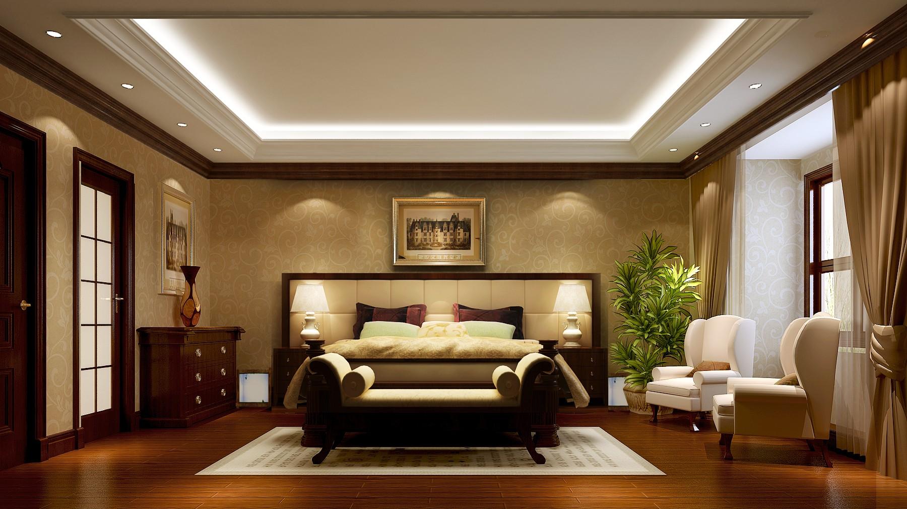 托斯卡纳 二居 平层 80后 小资 卧室图片来自黑白昼夜循环丶在领袖慧谷150平托斯卡纳风格案例的分享