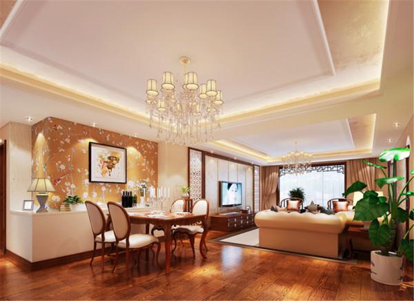 设计理念:在中国文化风靡全球的现今时代,中式元素与现代材质的巧妙结合,再现了精致小巧的中国韵味与墙体结合的置物台,使整个空间更有装饰感,别有一番风味,充分体现主人的品味。