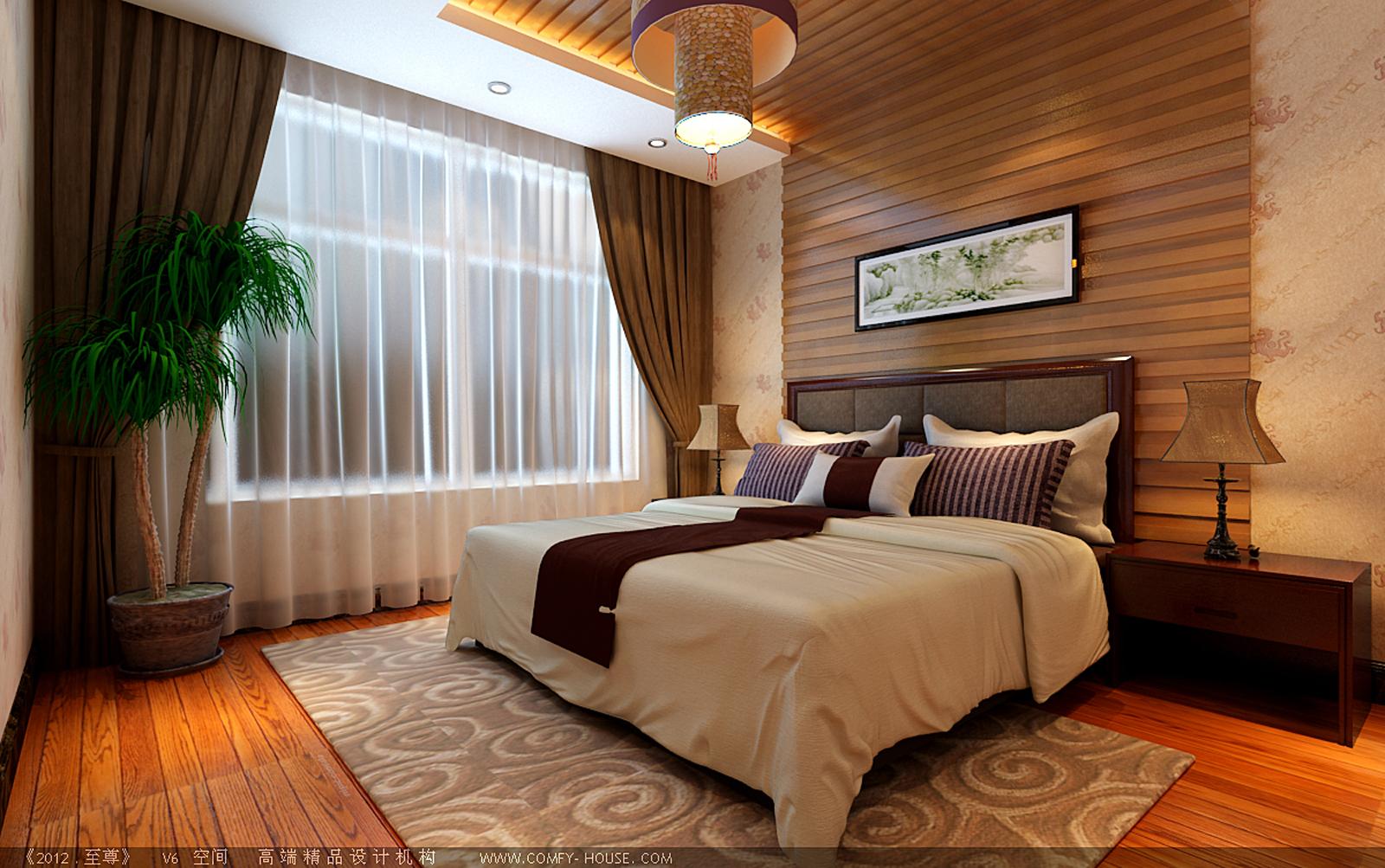 天海誉天下 217平米 石家庄实创 石家庄装修 卧室图片来自北京实创集团在天海誉天下217平米C户型的分享