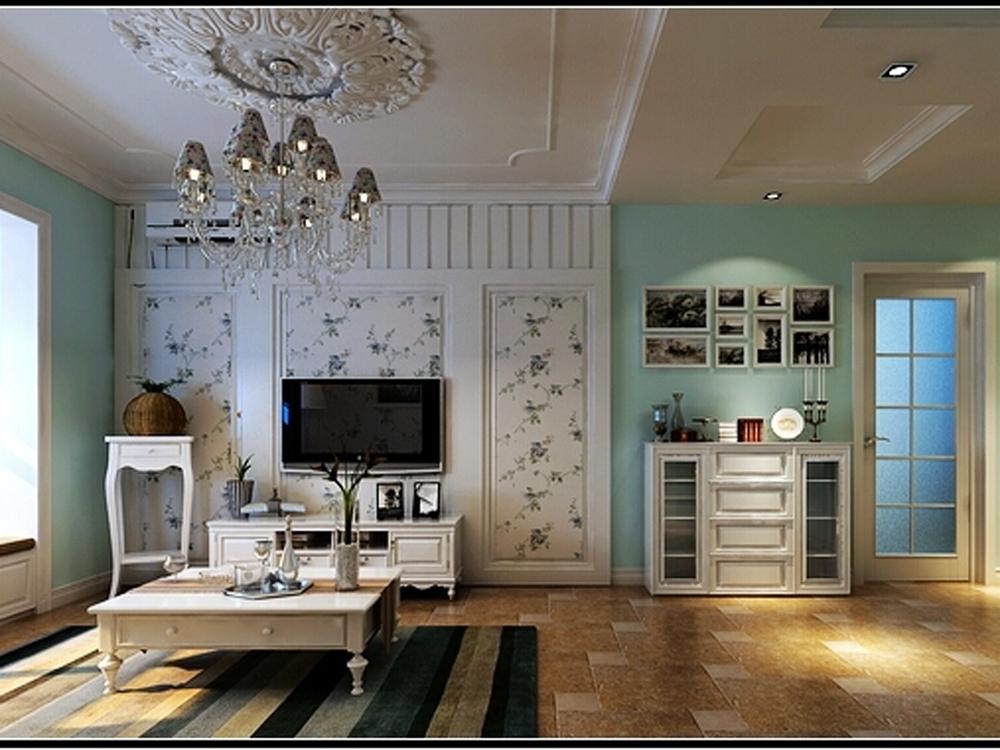 客厅图片来自tjsczs88在首创装饰-瞰海品筑的分享