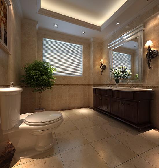 别墅装修 卫生间图片来自天津别墅装修在贝肯山的分享