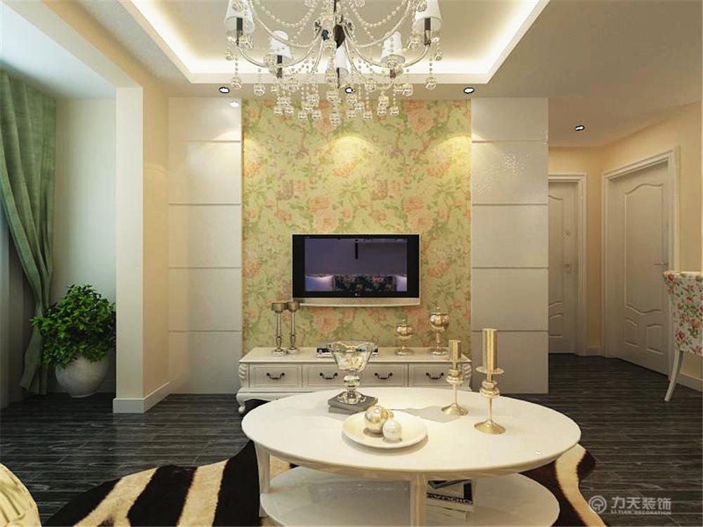 田园 二居 白领 收纳 80后 小资 客厅图片来自阳光力天装饰在亚泰津澜-92.12㎡-田园风格的分享